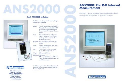 ECG monitor (HRV test) ANS 2000 - EN
