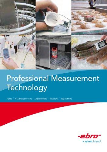 Catalogue for Measurement Technology