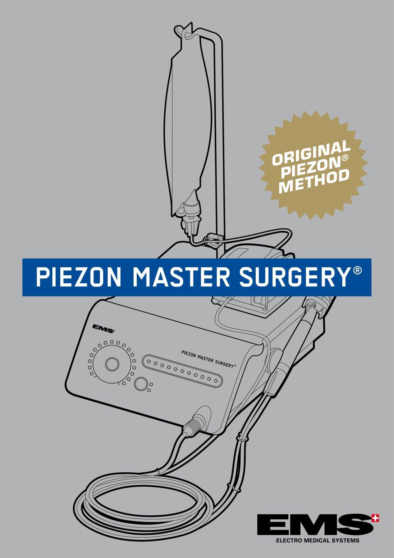 инструкция piezon master 700