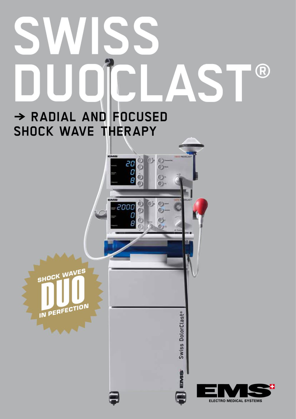 Swiss DuoClast® Flyer - EMS Electro Medical Systems - PDF Catalogue ...
