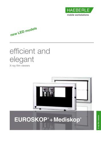 Mediskop+EUROSKOP x-ray film viewers
