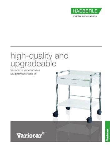 Variocar + Variocar-Viva Multipurpose trolleys
