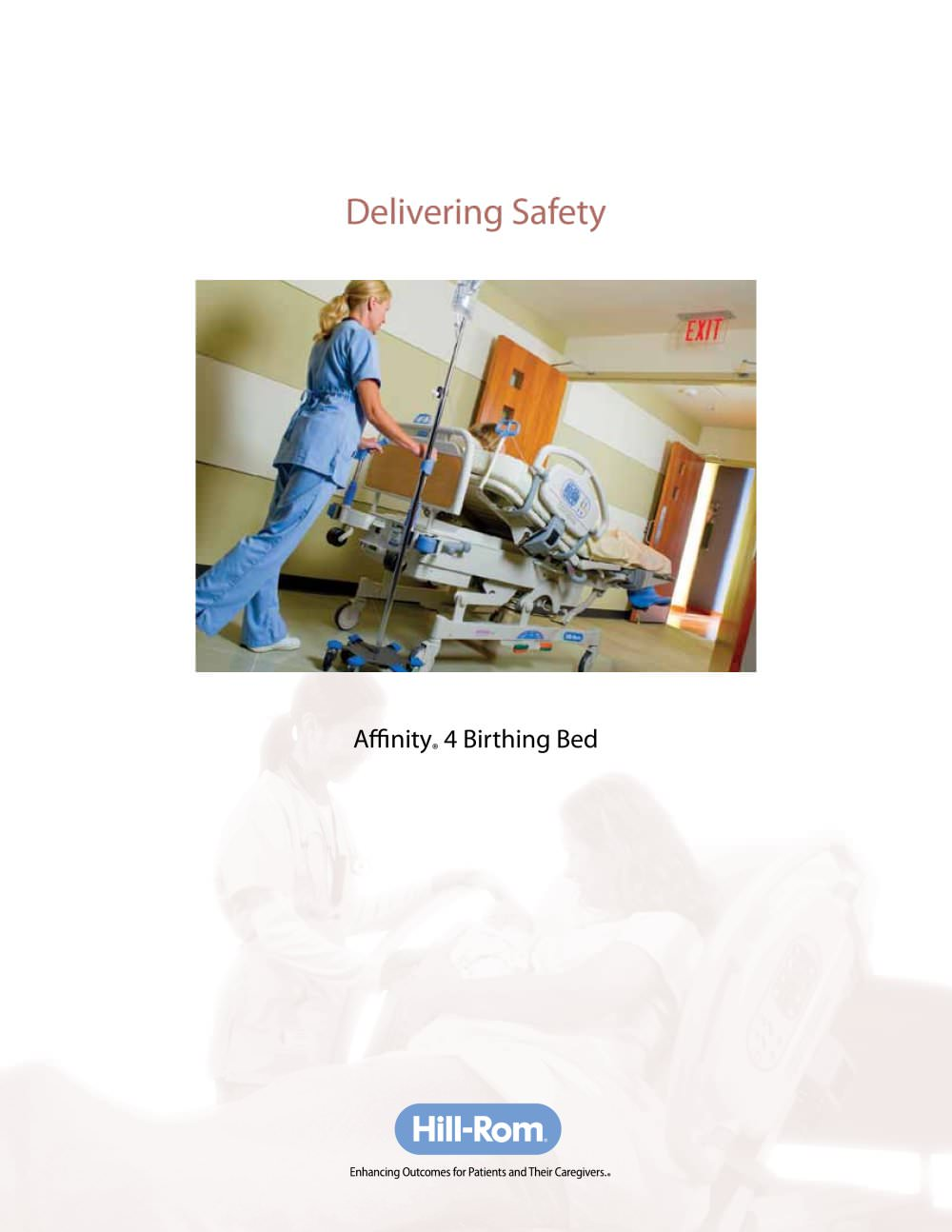 affinity a 4 birthing bed hill rom pdf catalogue technical