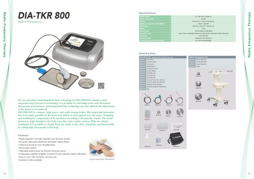 General catalog for Electrotherapy