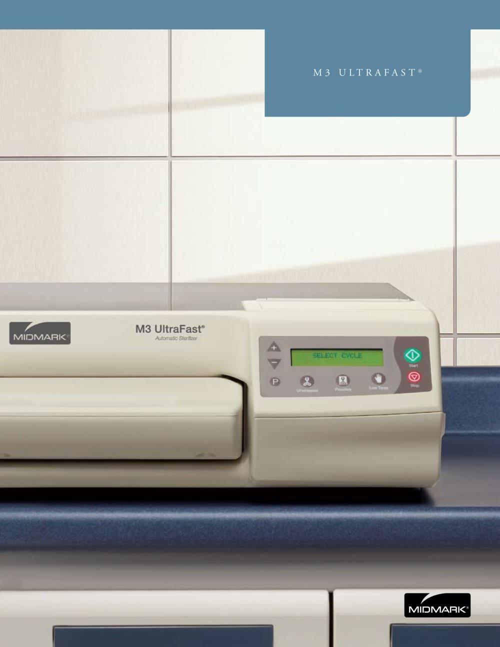 Midmark M3 Ultrafast Automatic Sterilizer Pdf Catalogue M11 Wiring Diagram 1 6 Pages