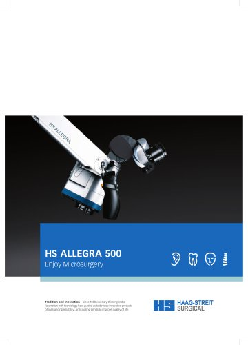 Brochure HS ALLEGRA 500