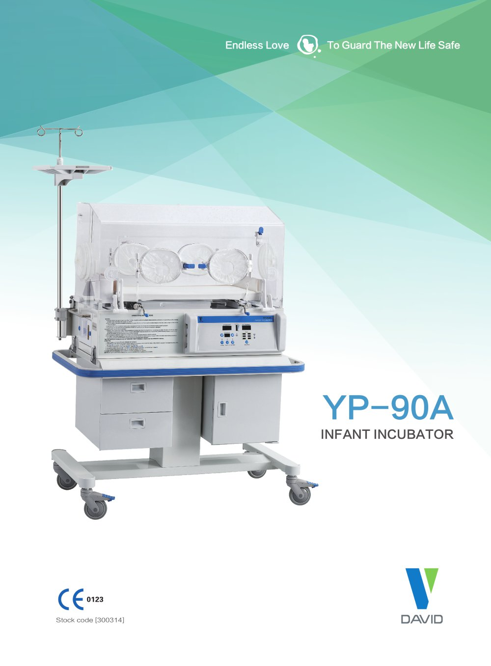 Infant Incubator - YP -90A / YP-90AB - 1 / 2 Pages