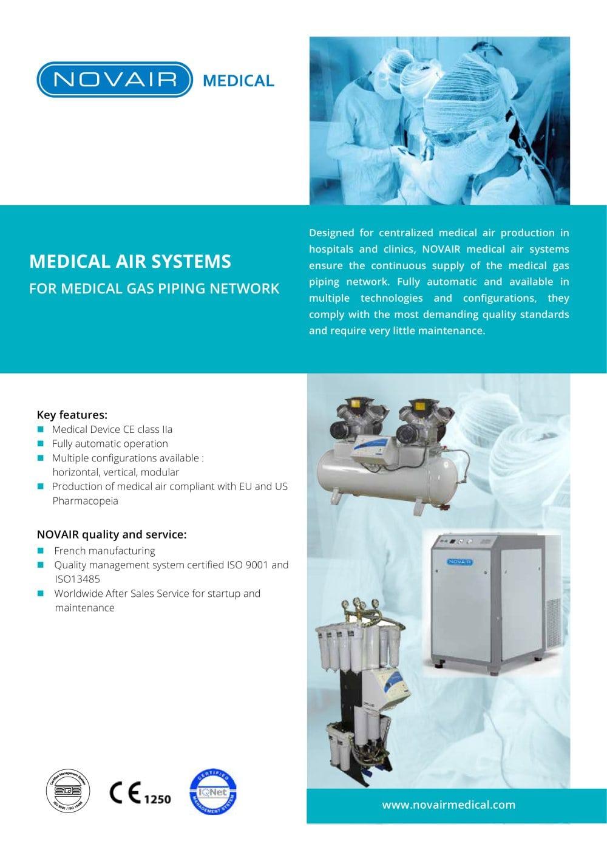 Medical Air Systems Novair Oxyplus Technologies Pdf Catalogs