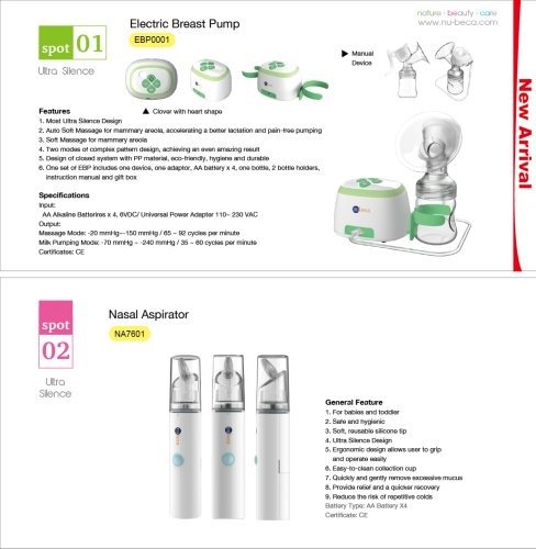 Catalogue 2017 - nu-beca & maxcellent - PDF Catalogs | Technical
