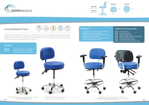 Peachy Models Mc6178 Mc6179 Seers Medical Pdf Catalogs Cjindustries Chair Design For Home Cjindustriesco