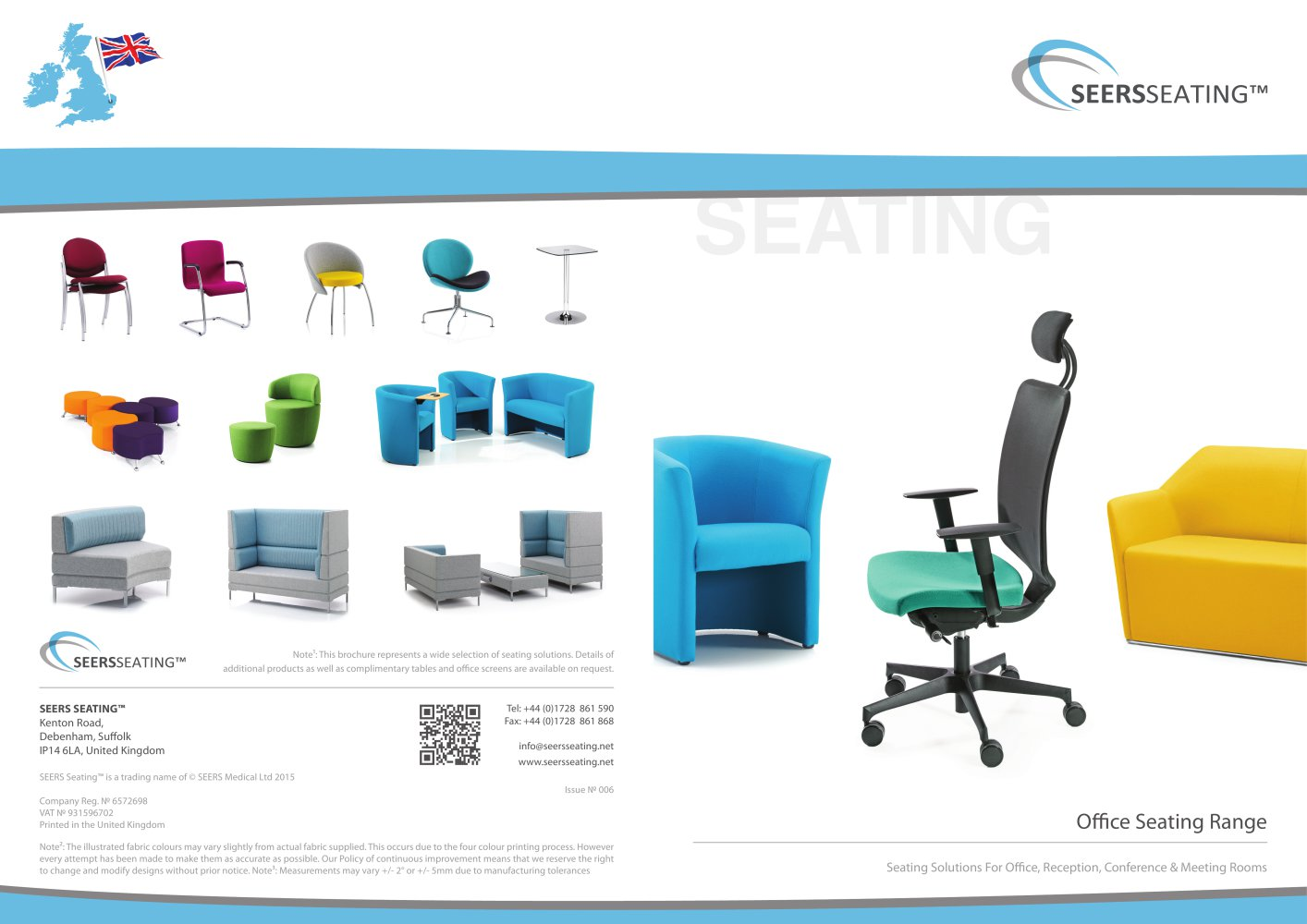 Office Seating Range - SEERS Medical - PDF Catalogue | Technical ...