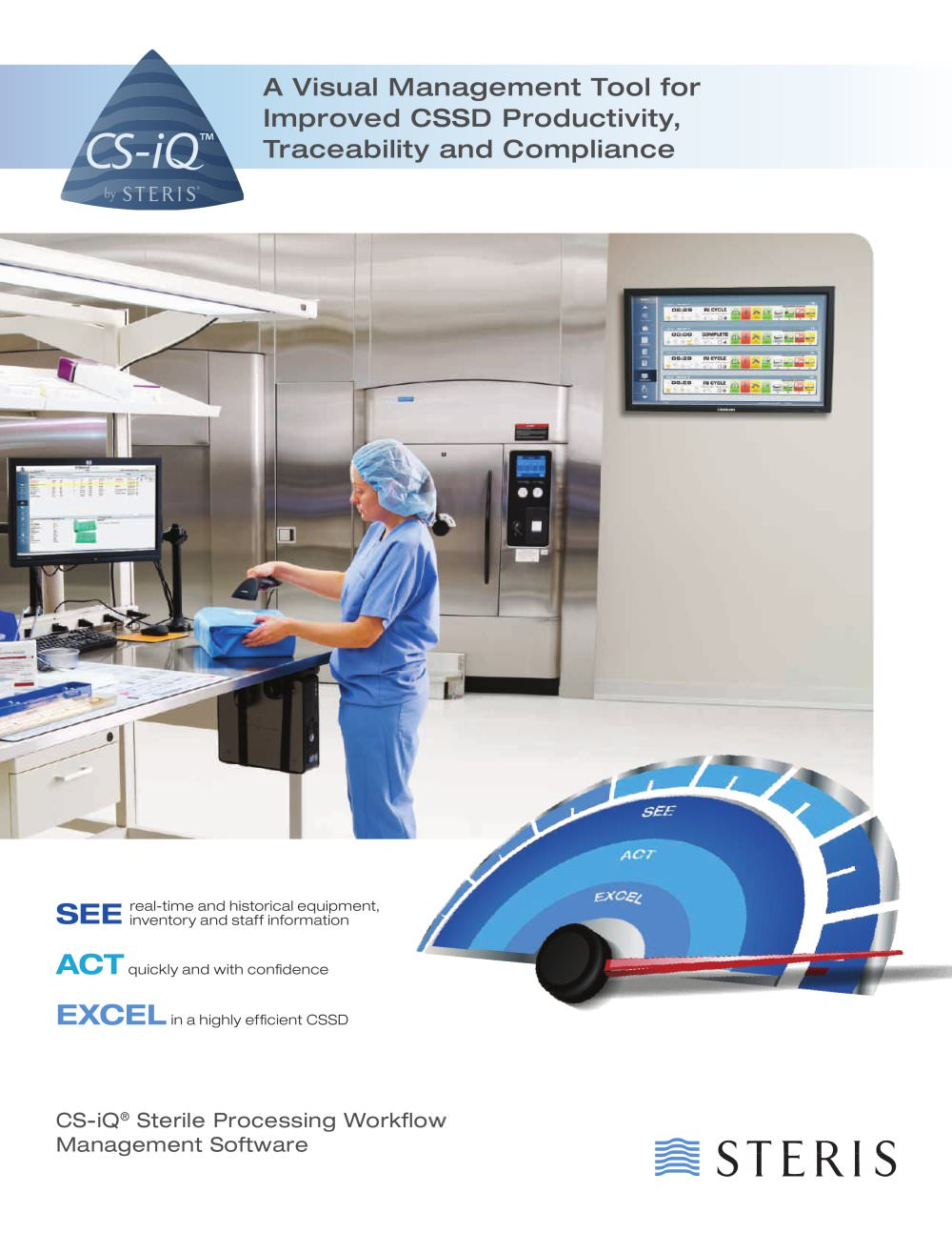 CS-IQ STERILE PROCESSING WORKFLOW MANAGEMENT SOFTWARE - 3 MODULES - 1 / 4  Pages