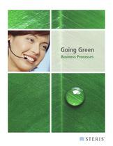 GOING GREEN BUSINESS PROCESSES