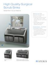 HIGH QUALITY SURGICAL SCRUB SINKS