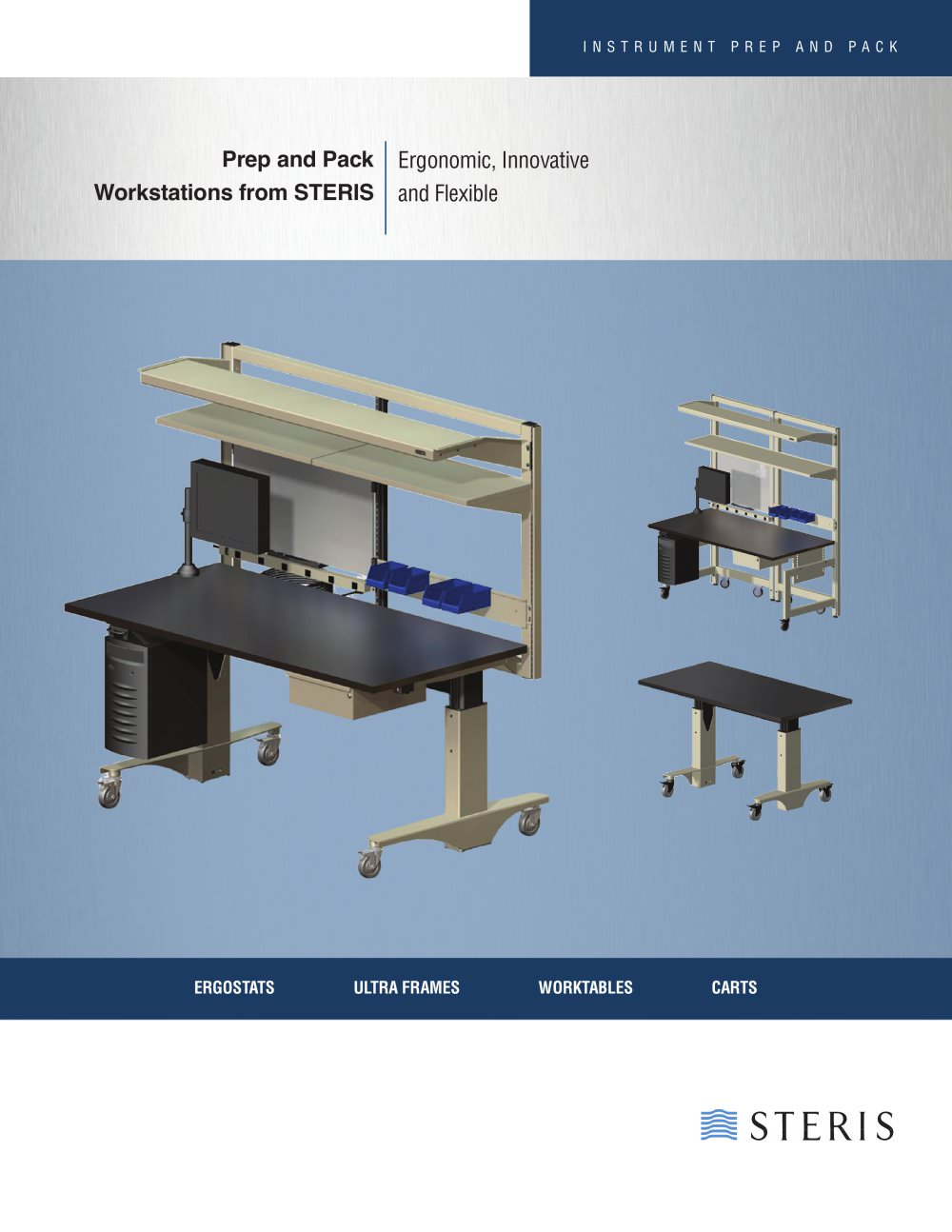 PREP AND PACK WORKSTATIONS FROM STERIS - 1 / 4 Pages