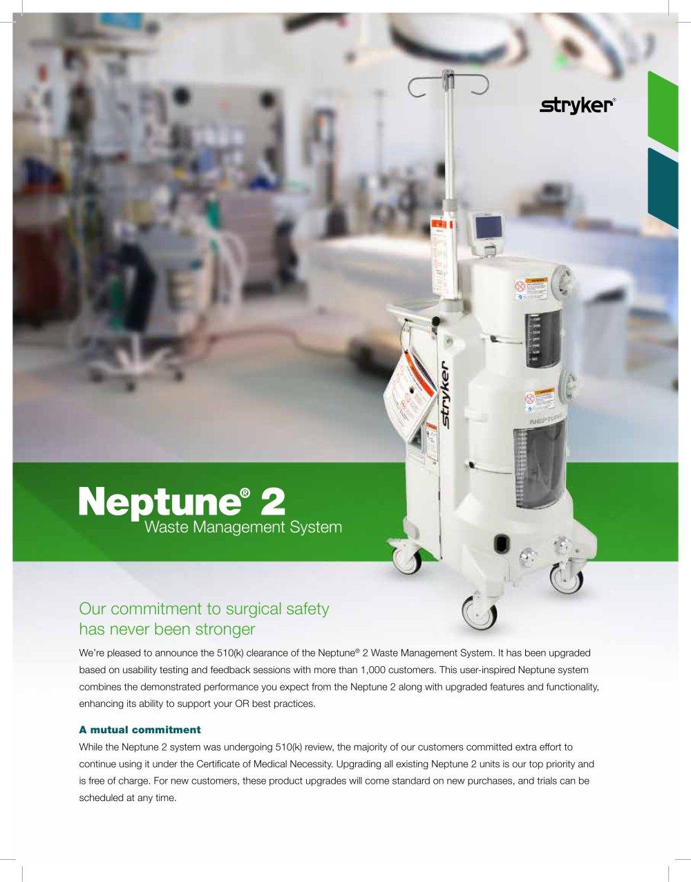 neptune 2 stryker pdf catalogue technical documentation rh pdf medicalexpo com stryker neptune rover service manual stryker neptune 2 service manual