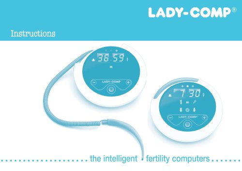Instructions Lady-Comp & Baby-Comp, USA