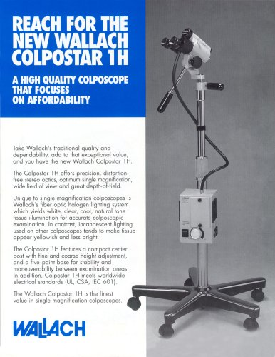 Colposcopio ColpoStar™ 1H