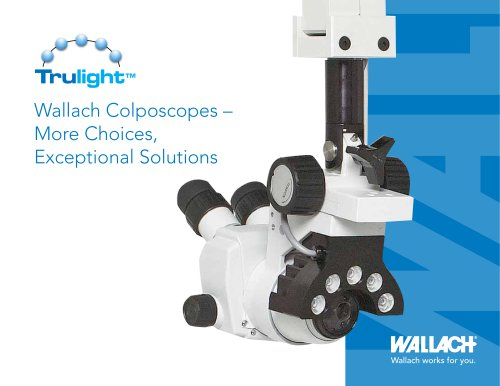 Wallach Colposcope Sell Sheet