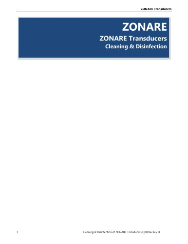 Transducer_Cleaning_&_Disinfection - ZONARE Medical Systems - PDF