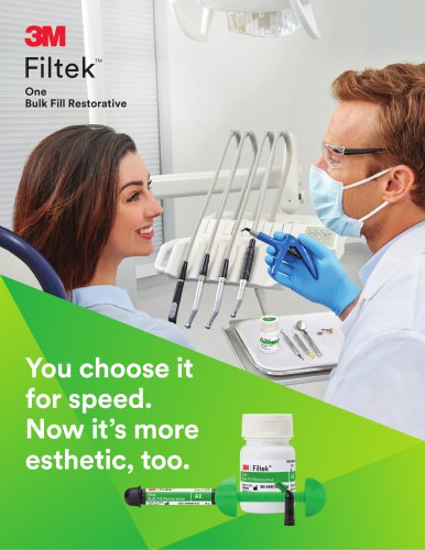 Filtek One Bulk Fill Brochure