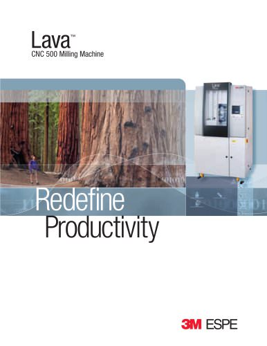 Lava CNC 500 Milling Machine brochure