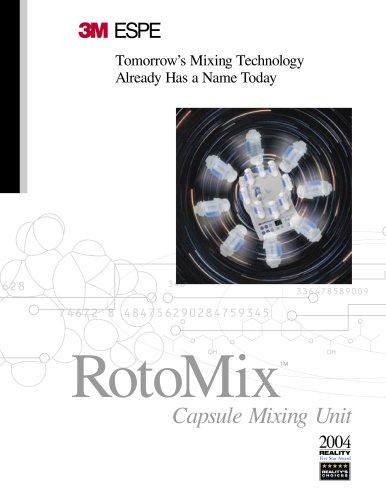 Rotomix Capsule Mixing Unit Brochure