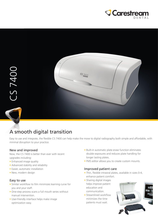 cs 7400 system brochure carestream dental pdf catalogue rh pdf medicalexpo com Carestream 3D Imaging Carestream 3D Imaging