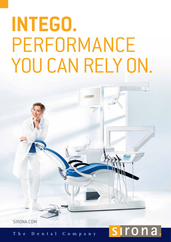 brochure intego dentsply sirona pdf catalogue technical rh pdf medicalexpo com Sirona Logo Sirona X-ray