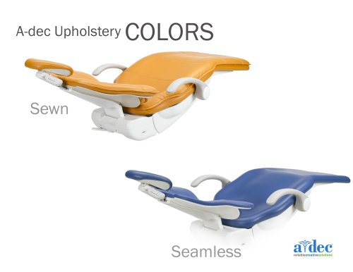 A-dec Upholstery COLORS