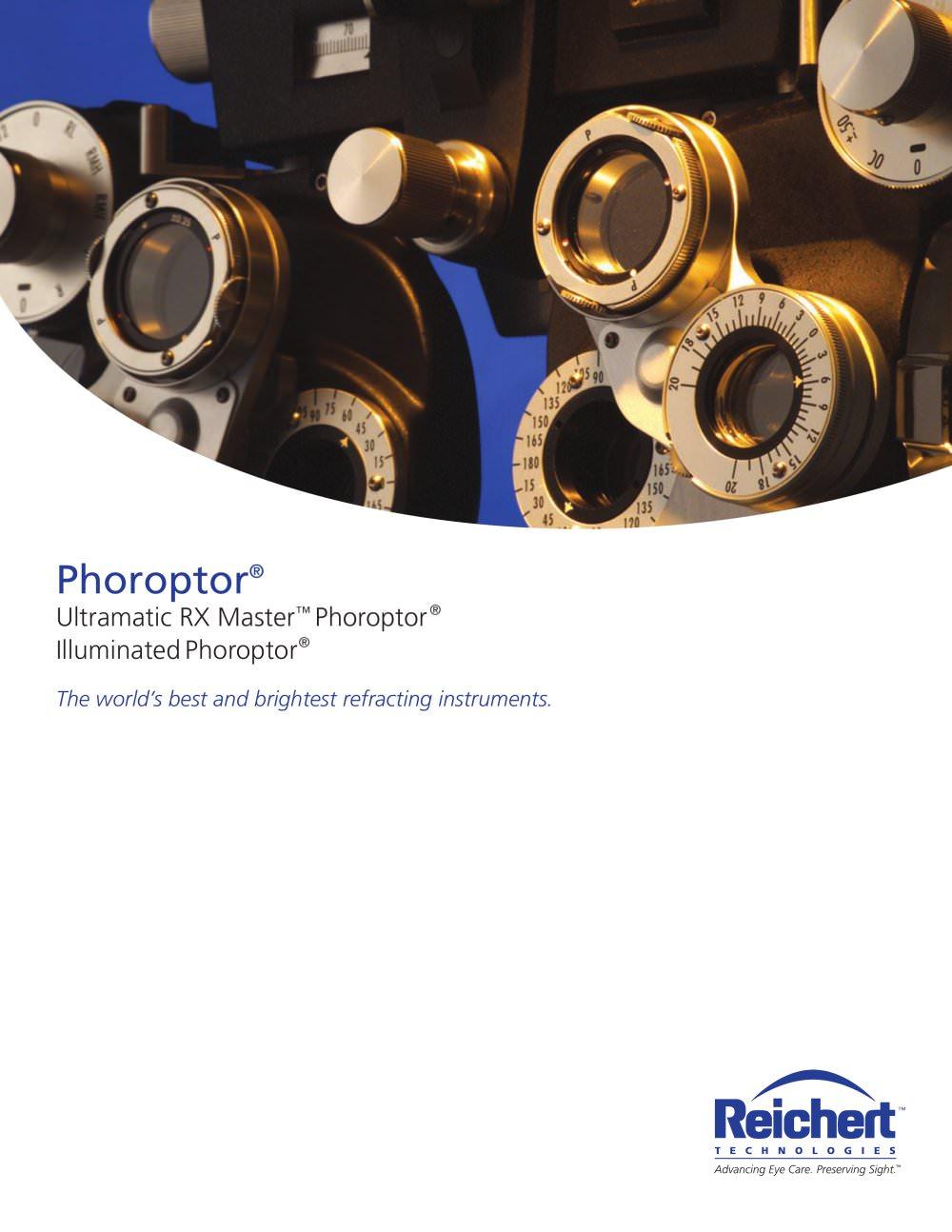 5e2c8a83ea Ultramatic RX Master Phoroptor Refracting Instrument - Reichert ...
