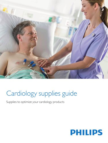 Cardiology supplies guide - Philips Healthcare - PDF Catalogs