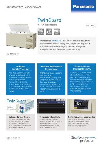TwinGuard ULT Chest freezer flyer
