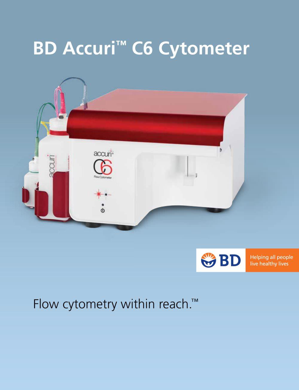 BD Accuri? C6 Cytometer - BD - PDF Catalogue | Technical Documentation