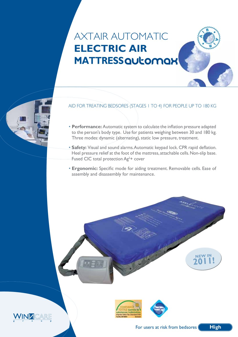 axtair automax therapeutic mattress 1 2 pages - Therapeutic Mattress