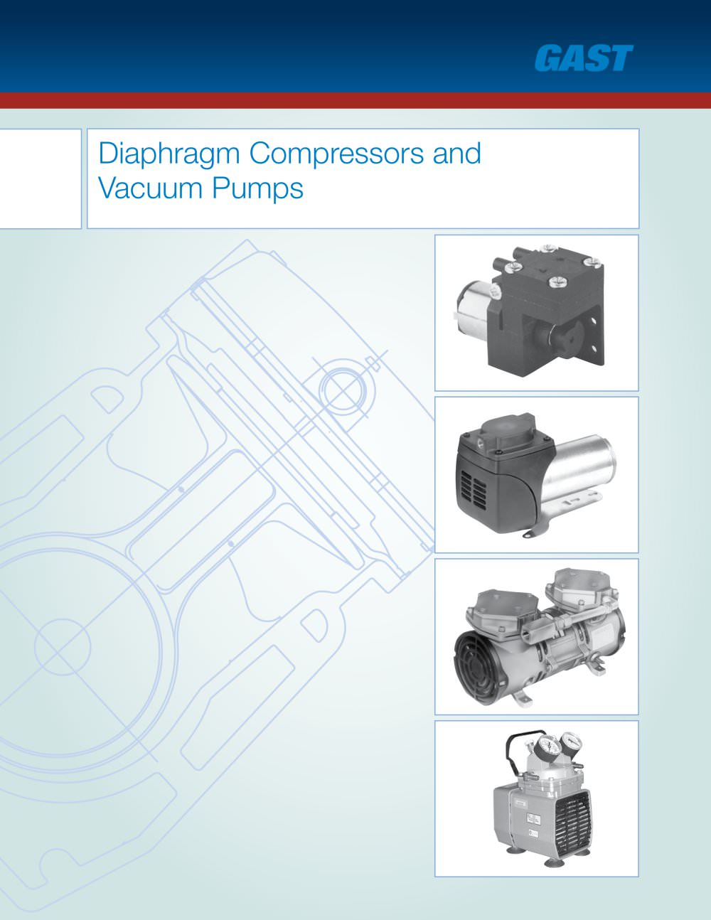Gast Vacuum Pumps Wiring Diagram Library Pump Diaphragm Compressors And 1 37 Pages