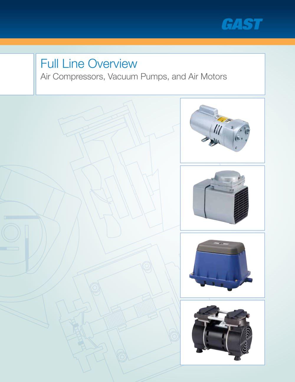 Full Line Overview Gast Group Ltd Pdf Catalogue Technical Vacuum Pump Diagram Nash 1 12 Pages