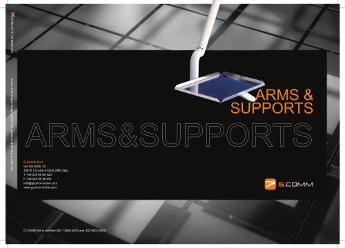 Arms and support systems