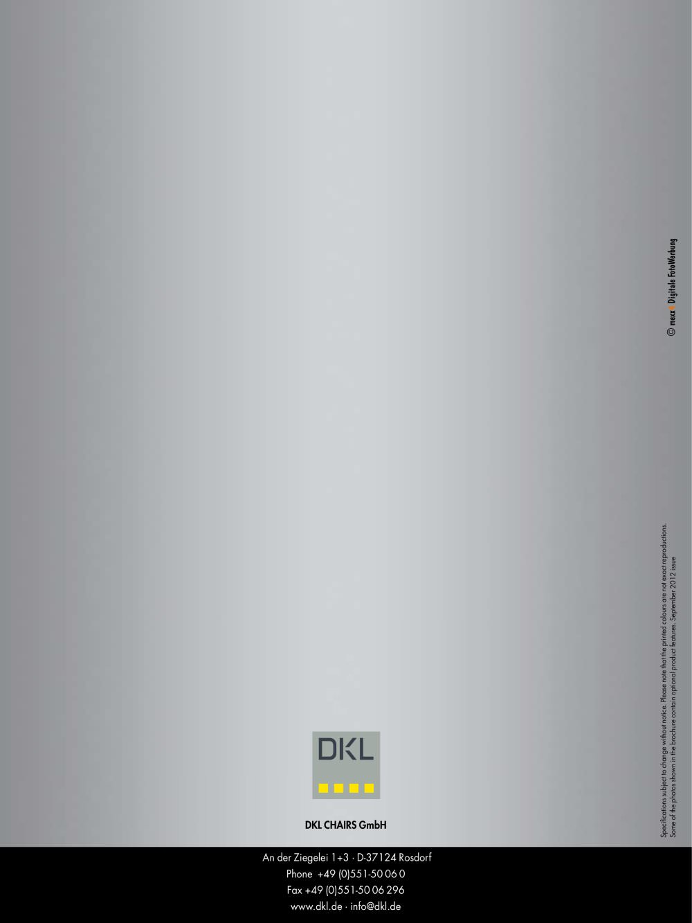 L1-ECO - DKL CHAIRS GmbH - Page n° 12 - PDF Catalogue | Technical