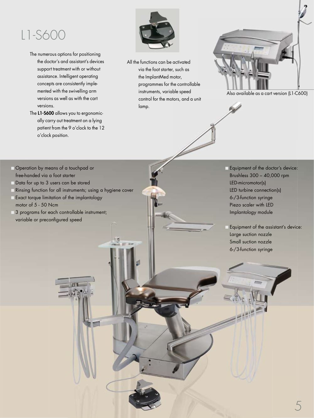 L1-ECO - DKL CHAIRS GmbH - Page n° 5 - PDF Catalogue | Technical