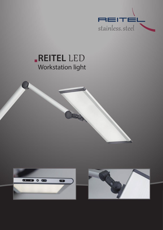 LED workstation light REITEL Feinwerktechnik PDF Catalogue