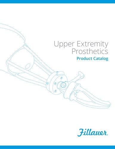 Upper Extremity Prosthetics Product Catalog