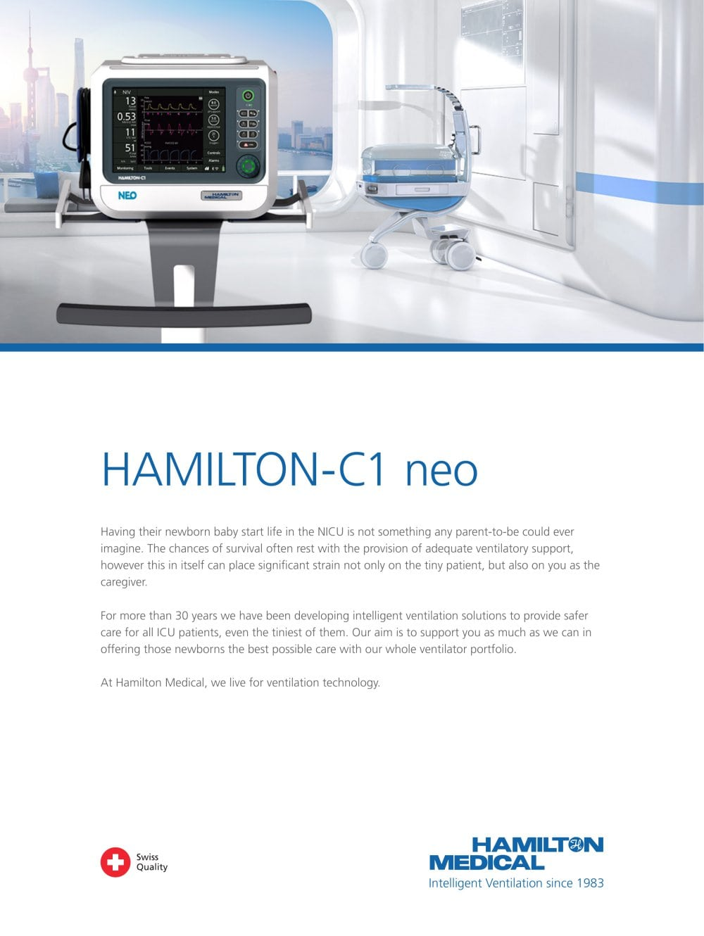 HAMILTON-C1 neo brochure - 1 / 8 Pages