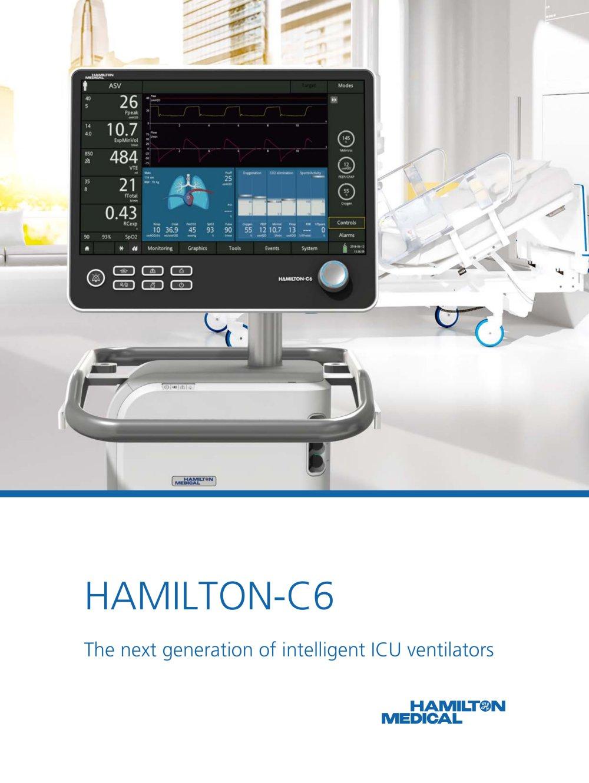 HAMILTON-C6 brochure - 1 / 12 Pages