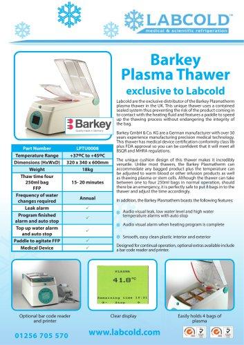 Plasma Thawer LPTU0008