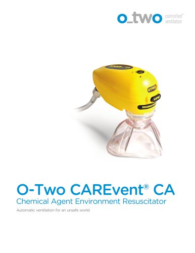 Chemical Agent Environment Resuscitator