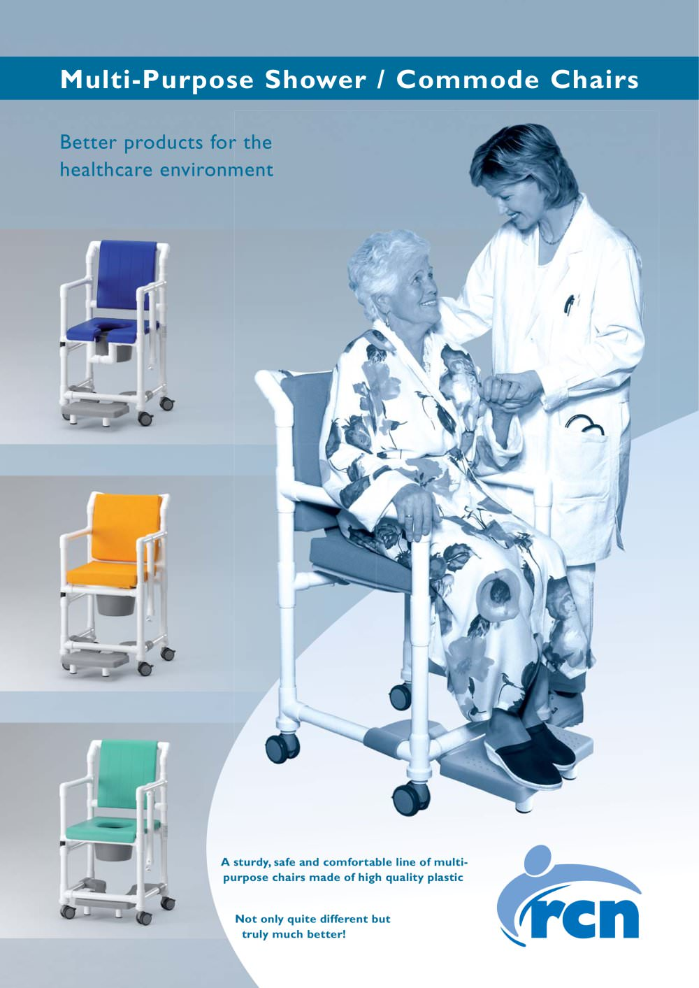 Shower/Commode Chairs - RCN MEDIZIN - PDF Catalogue | Technical ...