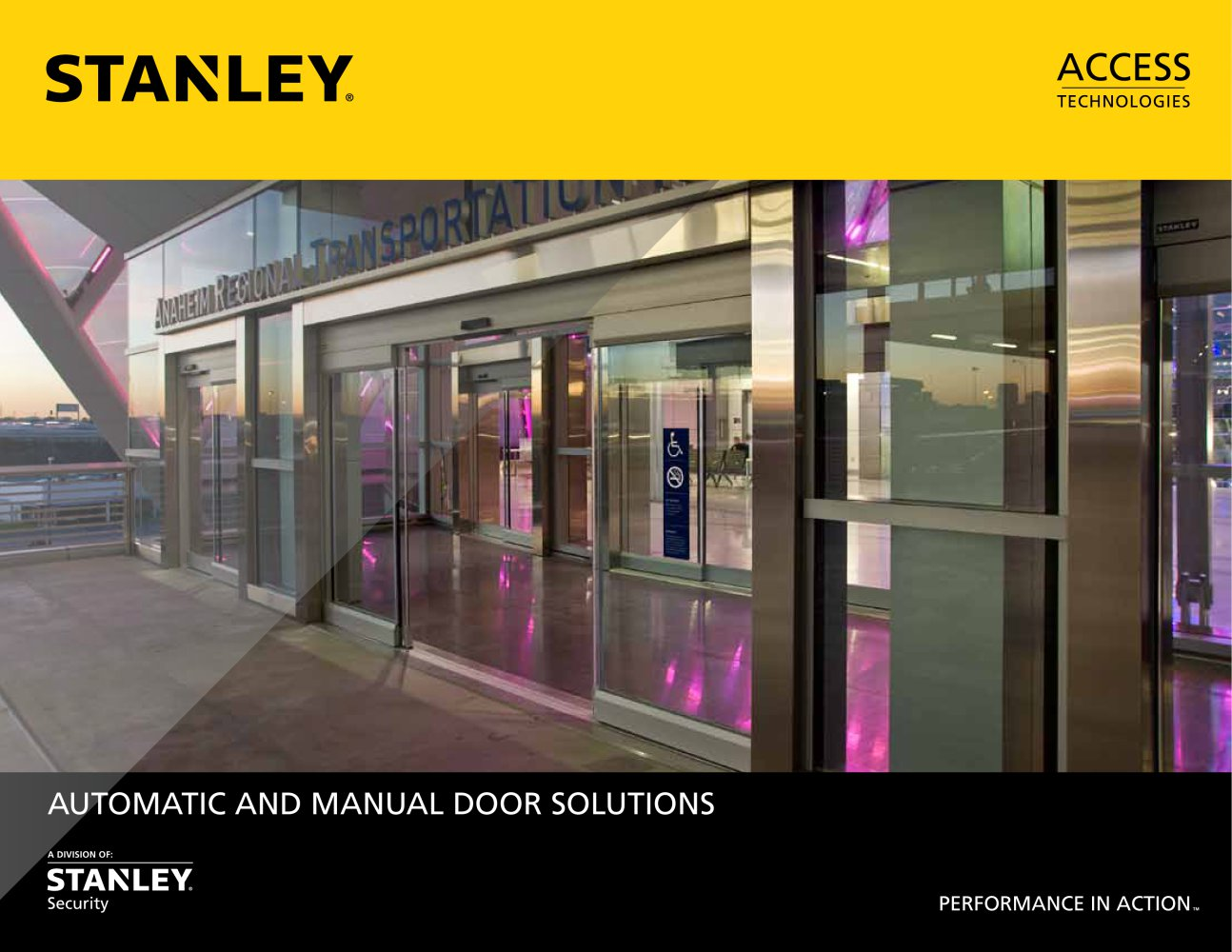 STANLEY Full Product Catalog - Stanley Access Technologies - PDF ...