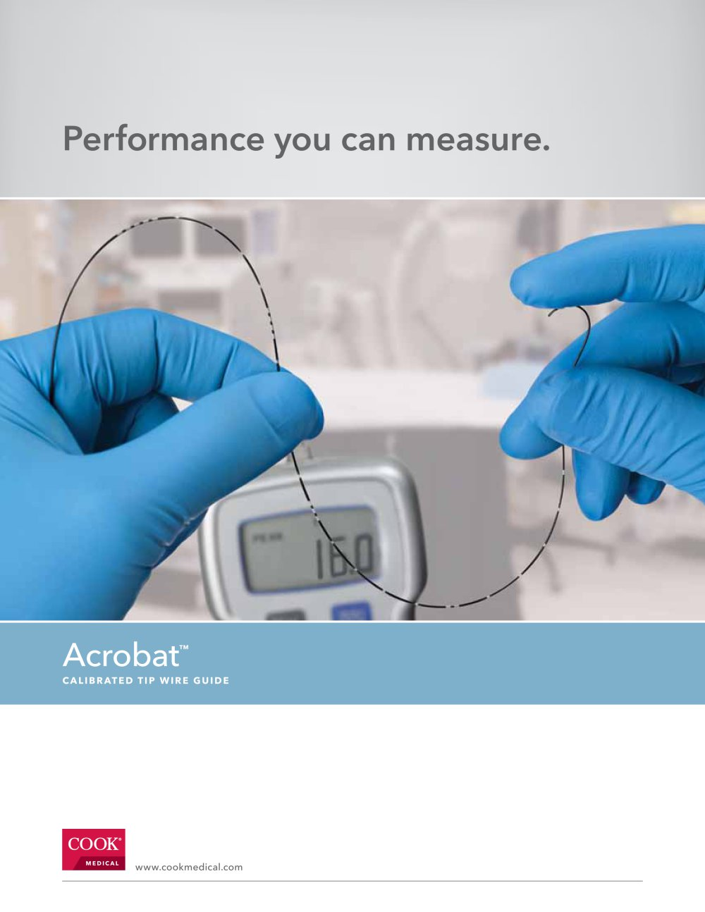 Acrobat™ Calibrated Tip Wire Guide - COOK Medical - PDF Catalogue ...