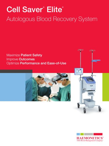 Cell Saver® Elite® brochure